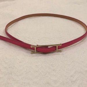 Hot Pink Adjustable Belt
